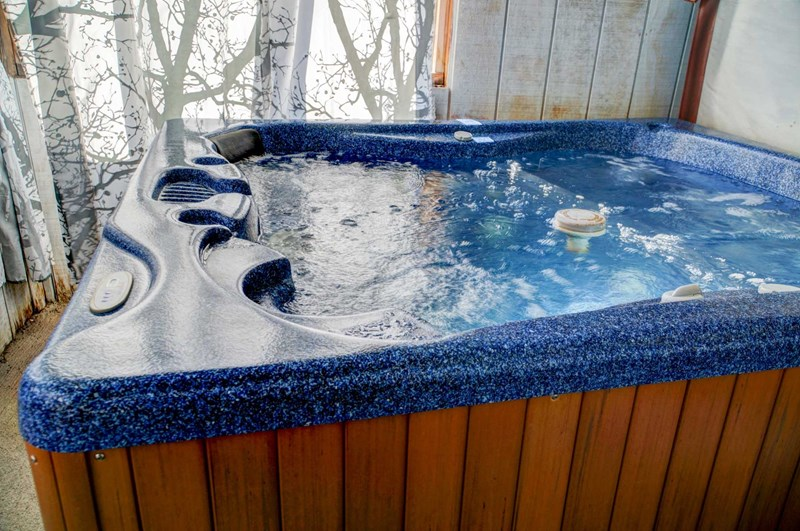Don't forget the hot tub