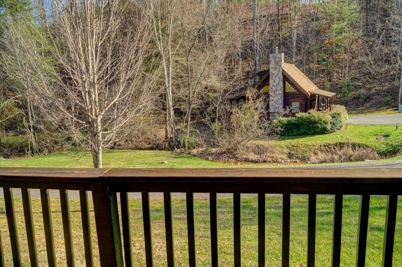 View from back deck
