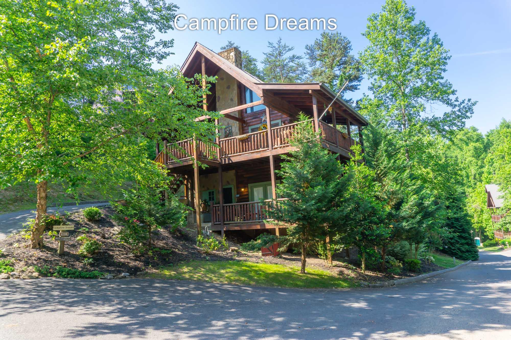 Campfire Dreams is a 2-KING suite cabin