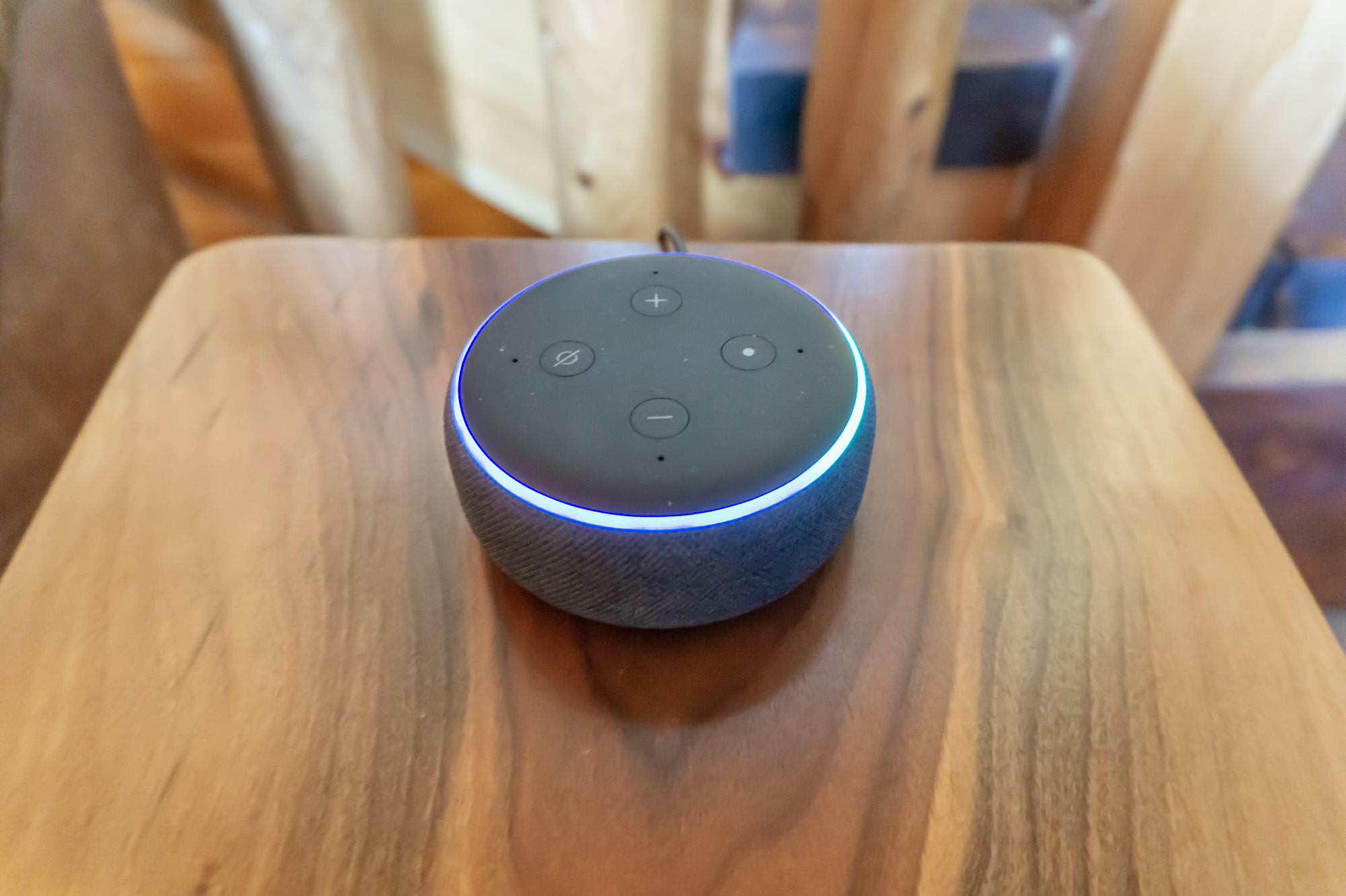 Be sure to ask Alexa a question??????