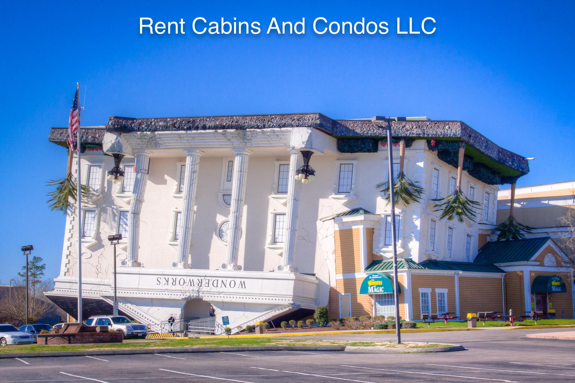 Cabin resort is across the street from WonderWorks